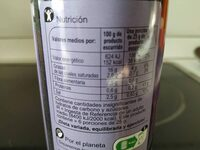 Aceitunas - Informació nutricional - es
