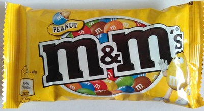 m&m's Peanut - نتاج