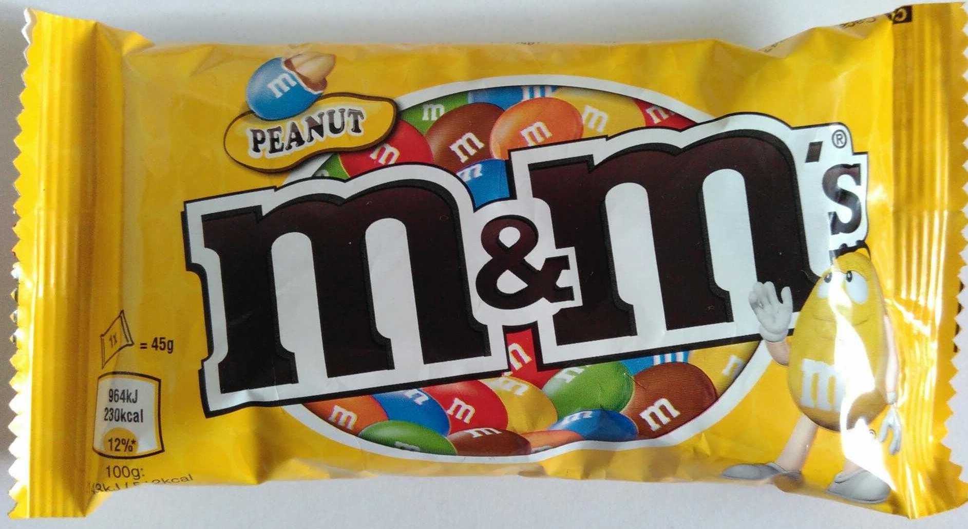 M Amp M S Peanut 45 G