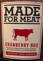 Made for Meat Cranberry BBQ - Prodotto - de