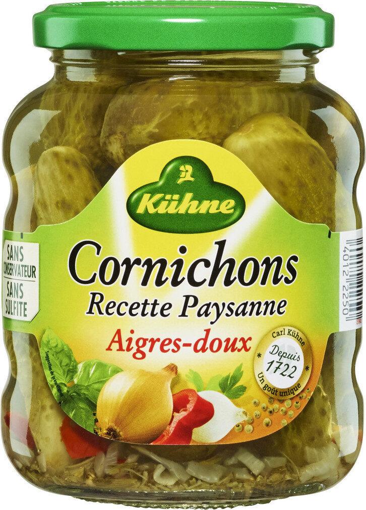 Cornichons aigres-doux Recette Paysanne - Product - fr
