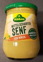 Mittelscharfer Senf fein würzig - Produit - de