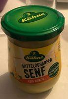Kühne mittelscharfer Senf fein würzig - Produkt