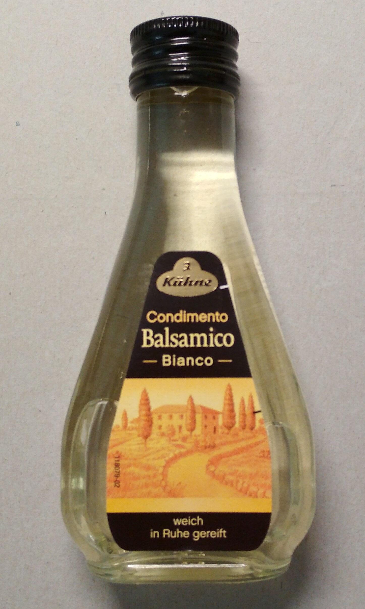 Condimento Balsamico Weiß - Produit - de