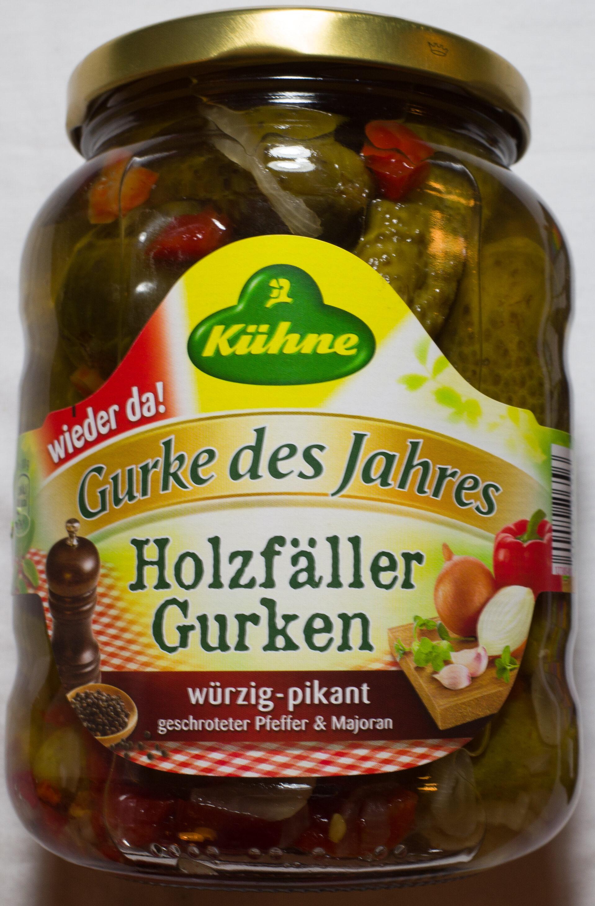 Holzfäller Gurken - Produit - de