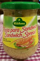 Pasta para sandwich - Produit - es