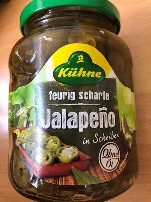 Jalapeño in Scheiben - Produto - de