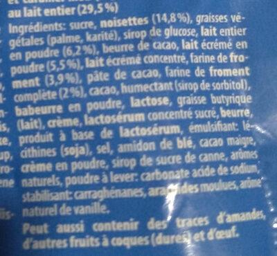Knoppers Nussriegel - Ingredienti - fr