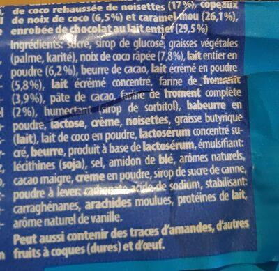 Knoppers Kokosriegel - Ingredients - en