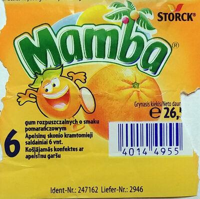 Guma rozpuszczalna o smakach owocowych - Produktas - pl