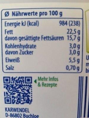 Classic soft cheese - Ingredientes - es