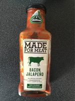 Made for meat - Bacon Jalapeño - Produit