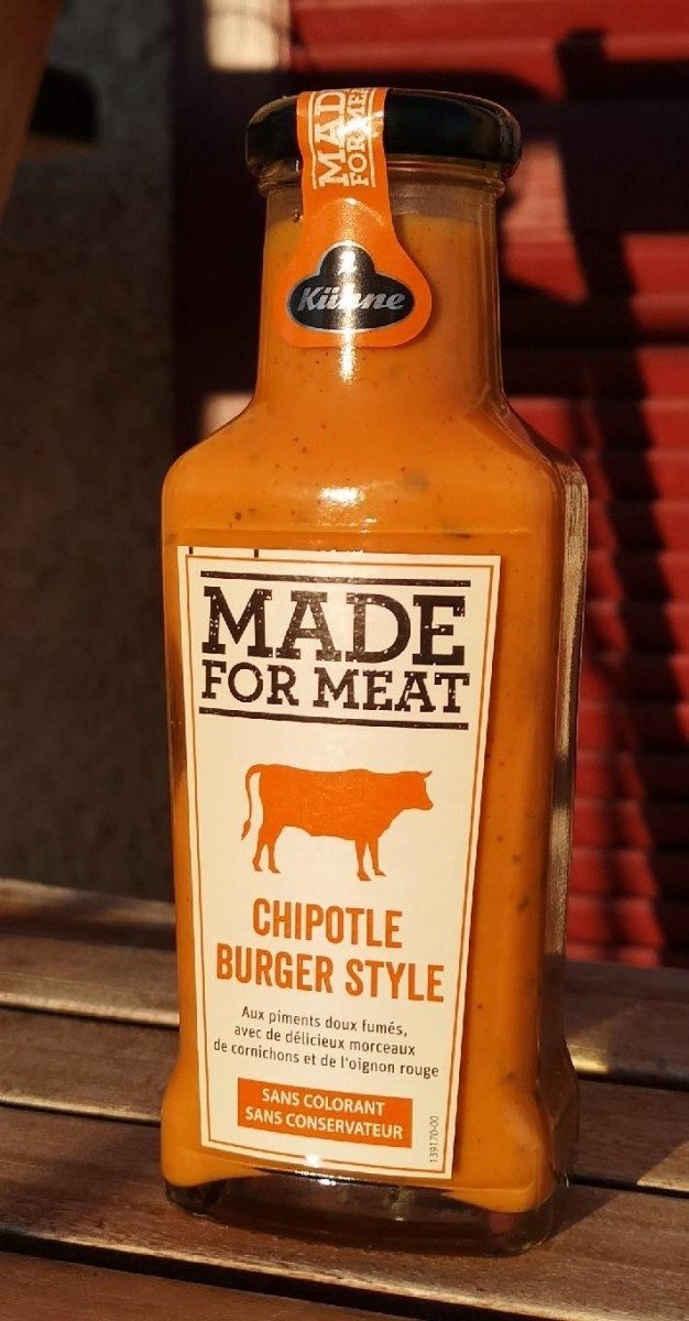 Made For Meat - Chipotle Burger Style - Product