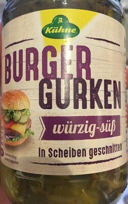 Burger Gurken Pepinillos Agridulces - Product - de