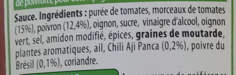Made for Meat - Ingrédients - fr