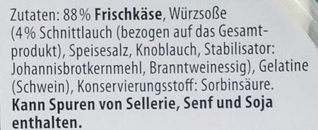 Schnittlauch - Ingredienti - de