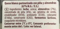 Rulito de Queso - Información nutricional - es