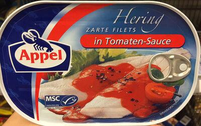 Hering zarte Filets in Tomaten-Sauce - Prodotto - de