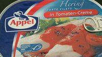 Zarte Heringsfilets in Tomaten-Creme - Produit - fr