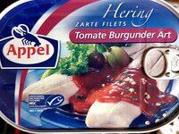 Heringsfilet in Tomate Burgunder Art von Appel - Produkt - de