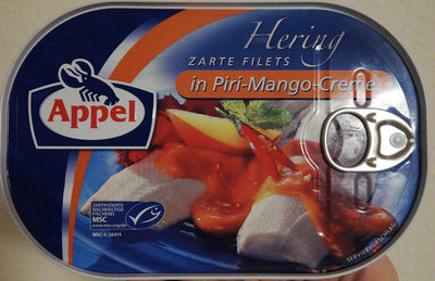 Fischbüchse Hering Filets in Piri-Mango-Creme - Prodotto - de