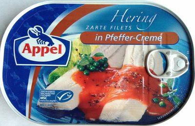 Zarte Heringsfilets in Pfeffer-Creme - Prodotto - de