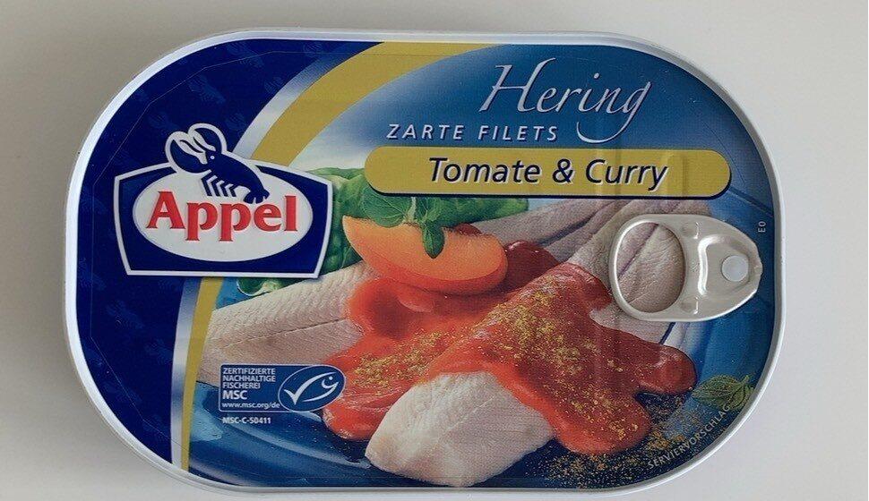 Zarte Heringsfilets Tomate & Curry - Prodotto - de