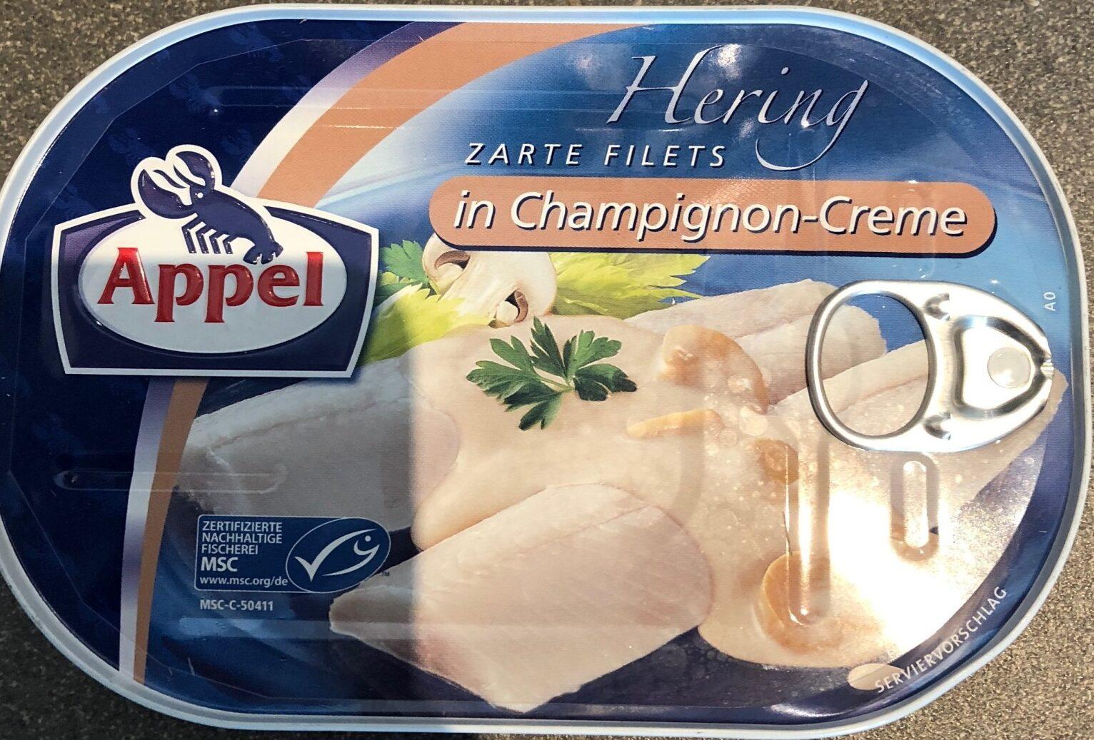 Hering in Champignon-creme - Produkt - de