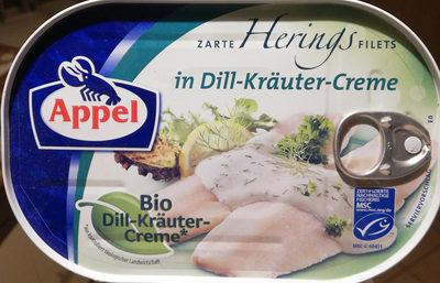 Zarte Herings Filets in Dill-Kräuter-Creme - Prodotto - de