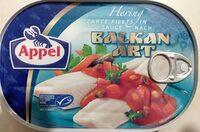 Hering zarte Filets in Sauce nach Balkan Art - Produkt - de