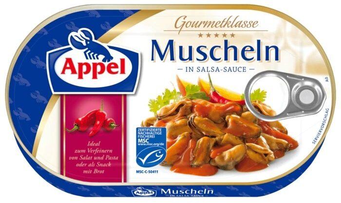 Muscheln in Salsa-Sauce - Prodotto - de