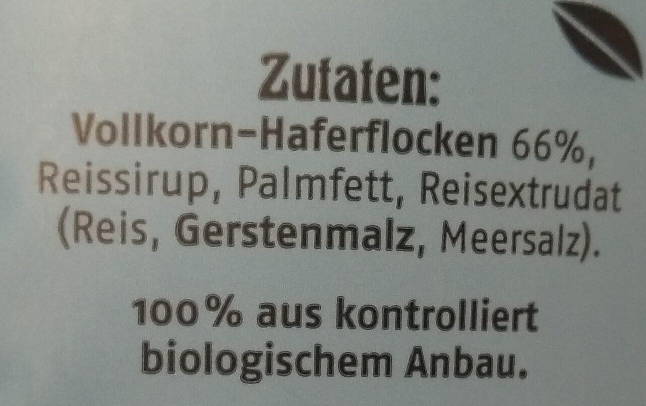 Krunchy Avoine - Ingredients - de