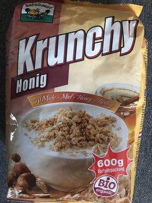 Barnhouse Krunchy Honing Muesli - Produkt - fr