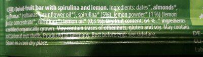 Barritas Espirulina Y Limon - Producto - en