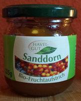 Sanddorn bio-fruchtaufstrich - Product