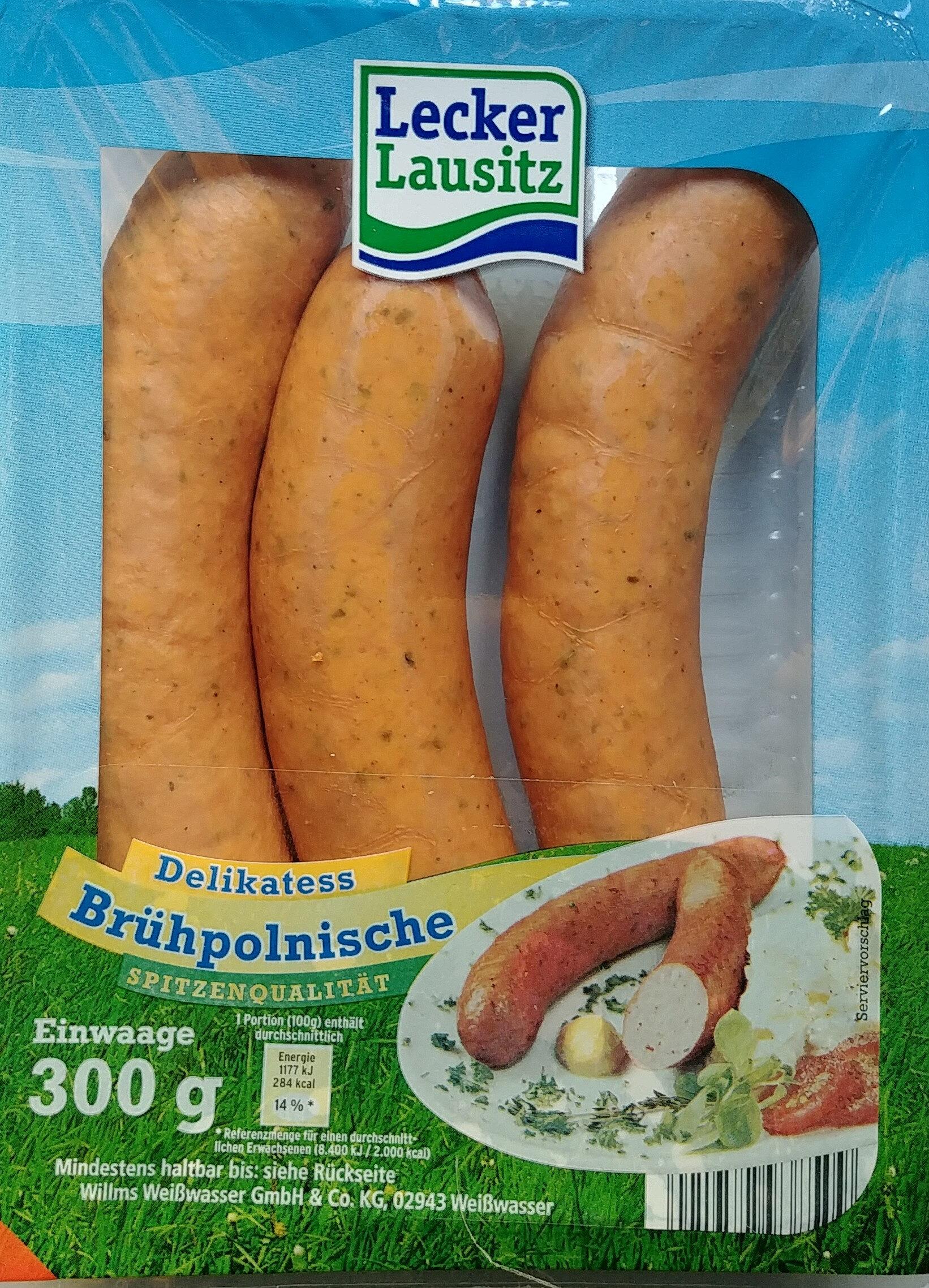 Delikatess Brühpolnische - Produkt - de