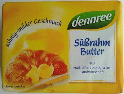 Süßrahmbutter - Produit