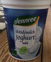Weidemilch Joghurt mild - Produit - de