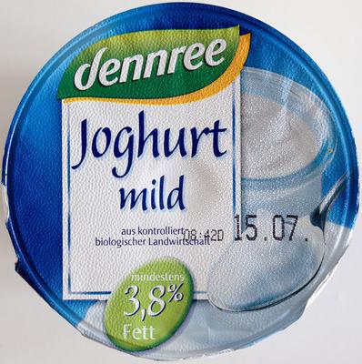Joghurt mild, 3,8% Fett - Product - de