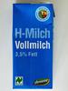 H-Milch Vollmilch 3,5 % Fett - Produkt