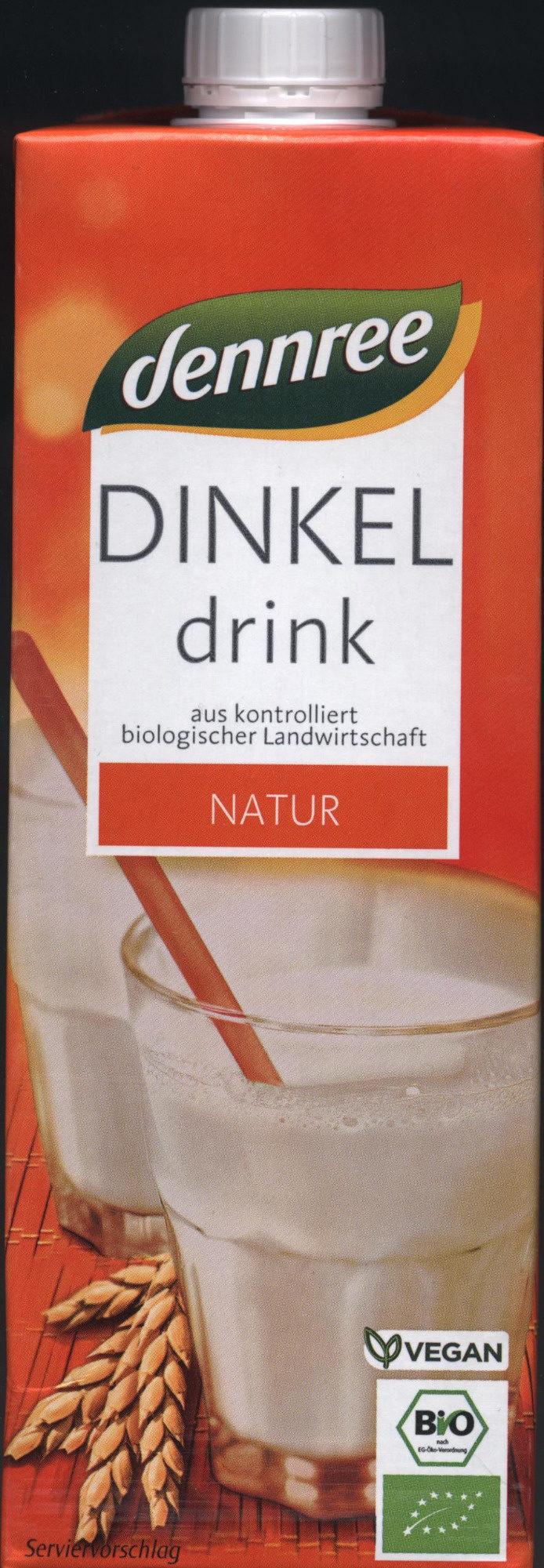 Dinkel drink - Natur - Produit - de