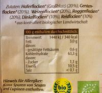 Bio-6-Korn-Flocken - Ingrédients