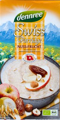 Swiss Porridge Nuss-Frucht - Produkt