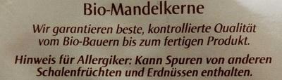 Mandelkerne - Ingrediënten