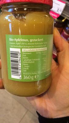 Apfelmus - Ingredients