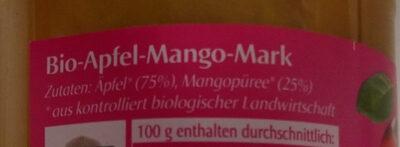Apfel-Mango Mark - Ingredients - en