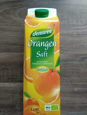 dennree Orangensaft - Product