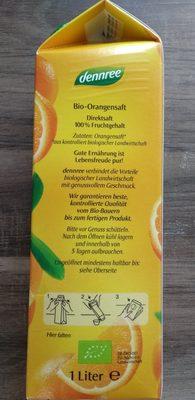Orangensaft - Ingredients