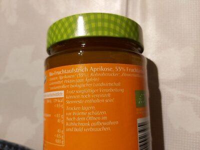Aprikosen Fruchtaufstrich - Ingrédients - de