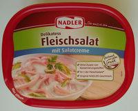 Delikatess Fleischsalat mit Salatcreme - Produkt